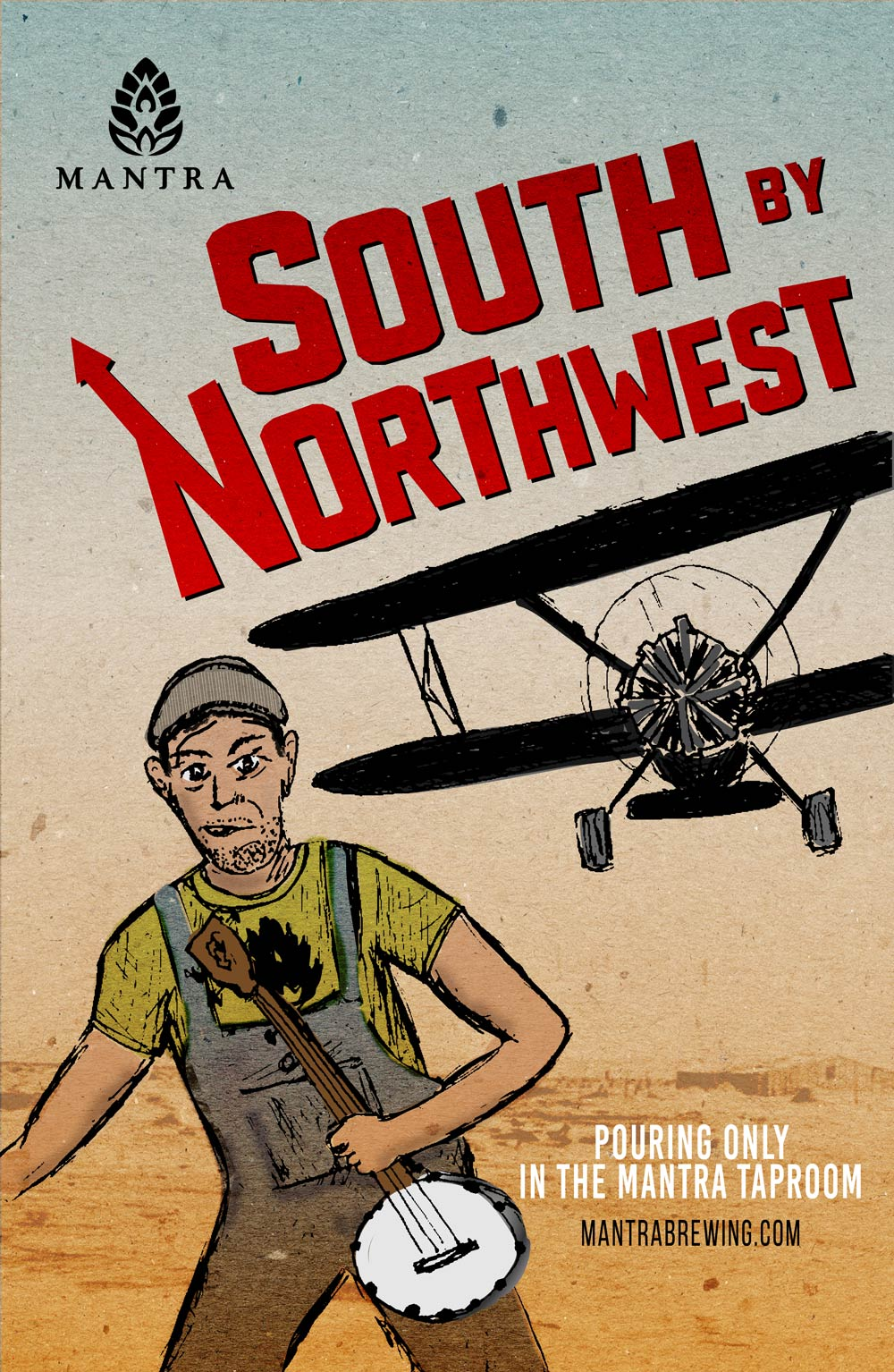 South-by-Northwest---11x17-Poster