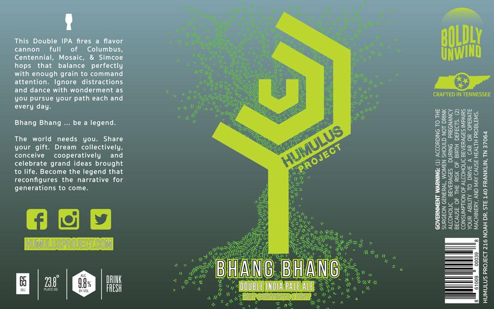 Bhang Bhang - Final Design