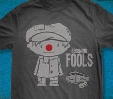 Becoming Fools Tee Detail