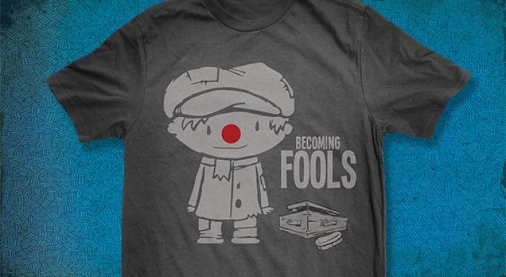 Becoming Fools Branding