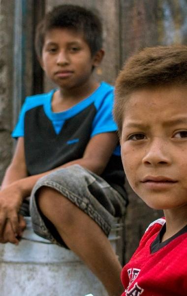 Boys at the Terminal Dump in Guatemala City