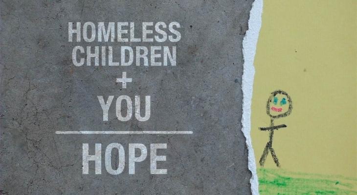 Homeless Children + You = HOPE