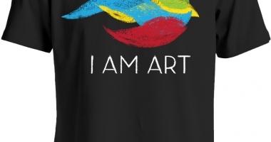 I Am Art - Crayon Tee