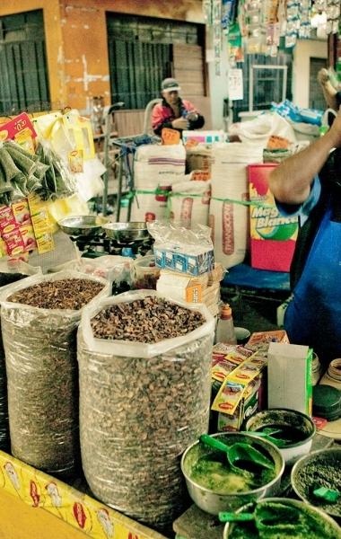 Woman in Comas Market