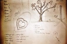 Initial Design: Heart & Tree