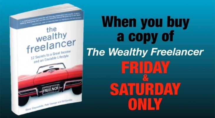 Wealthy Freelancer Book Promo