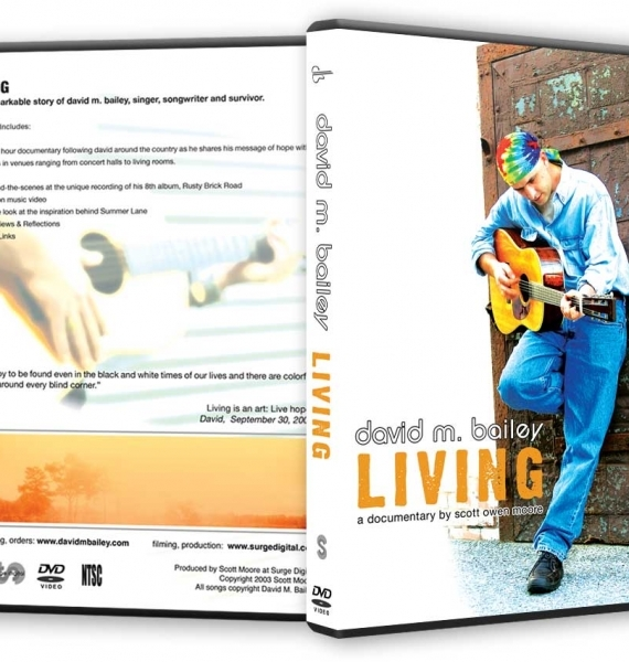 dmb living dvd packaging