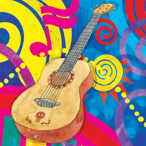 La Berry Bamba guitar