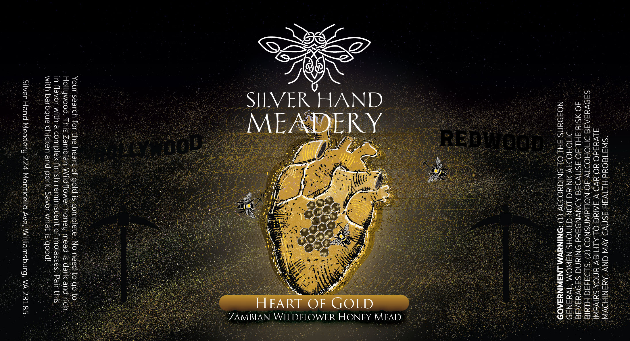 Silver Hand Meadery - Heart of Gold